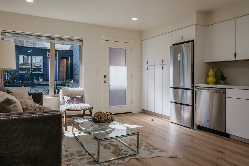 Multifamily Garage Conversion To, Converting A Garage Into An Apartment Floor Plans