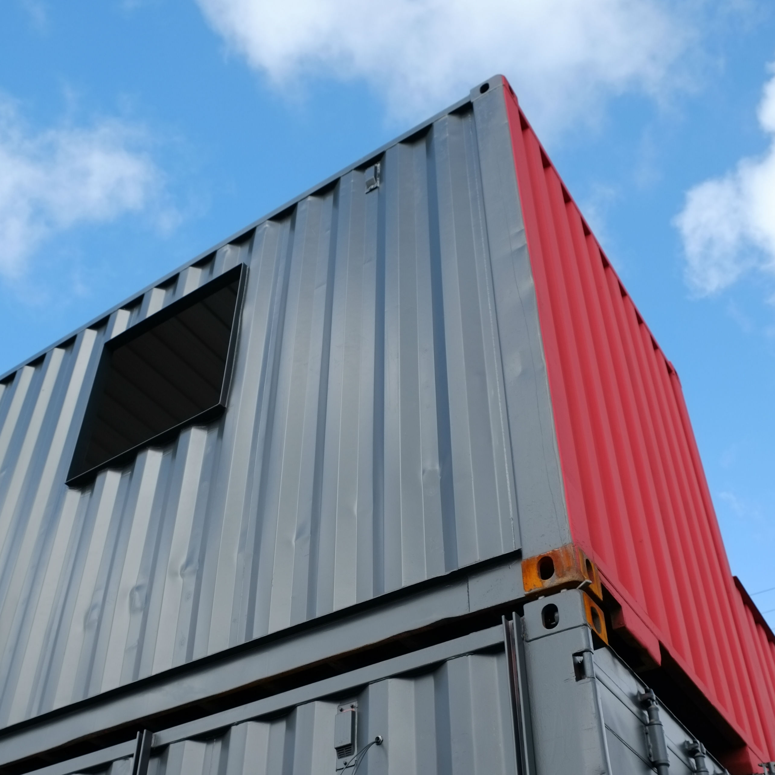 Container Delivery Day at The Yard
