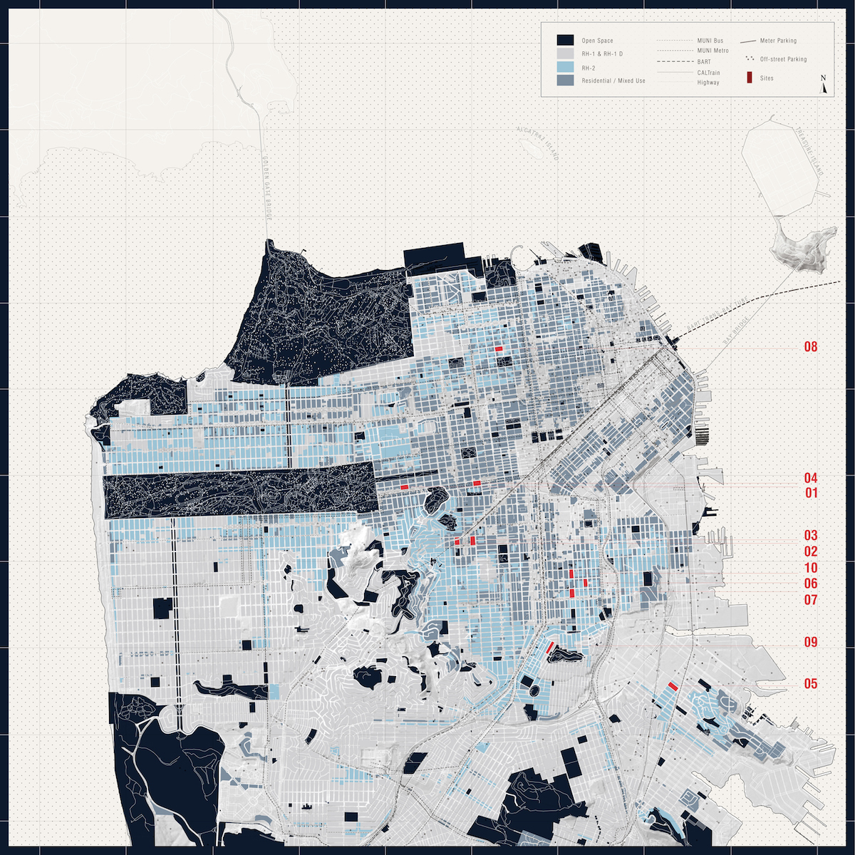 San Francisco Zoning Map
