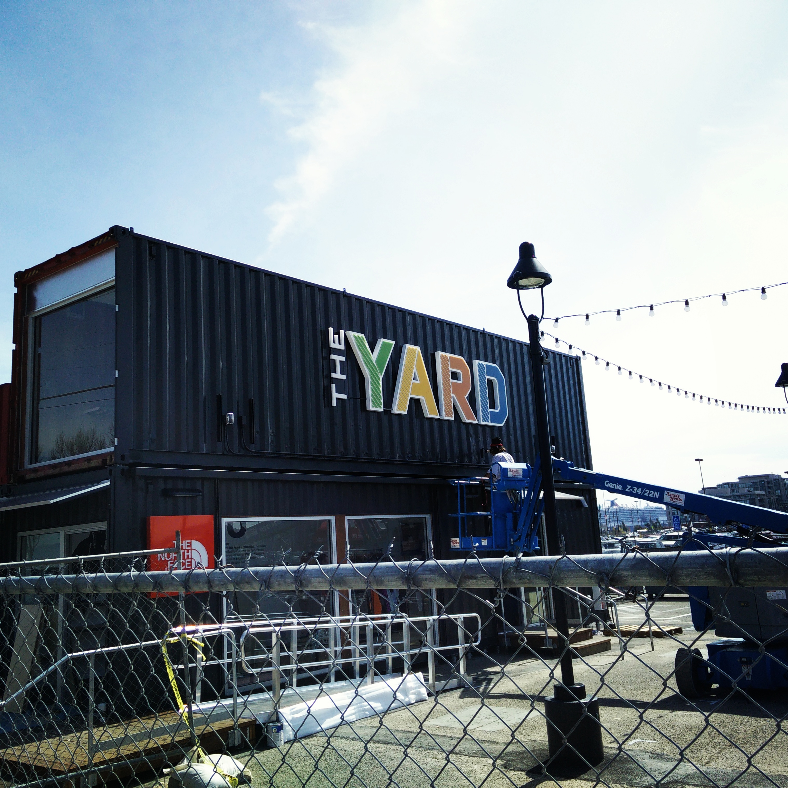 Construction Wraps Up at The Yard